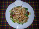 Roston csirkemell salátaágyon