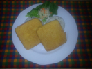 Rántott Trappista sajt